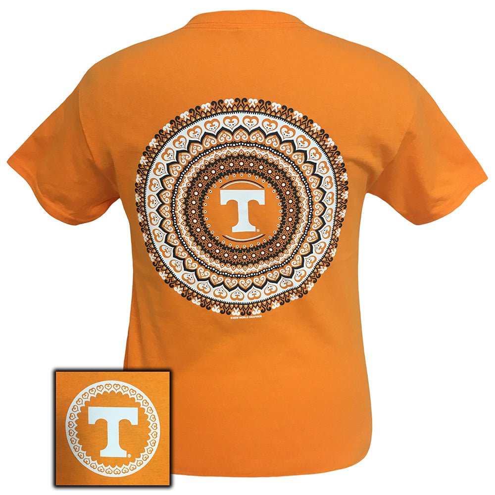 Tennessee Mandala Tennessee Orange  Short Sleeve