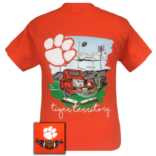 Tailgates and Touchdowns Clemson Short Sleeve
