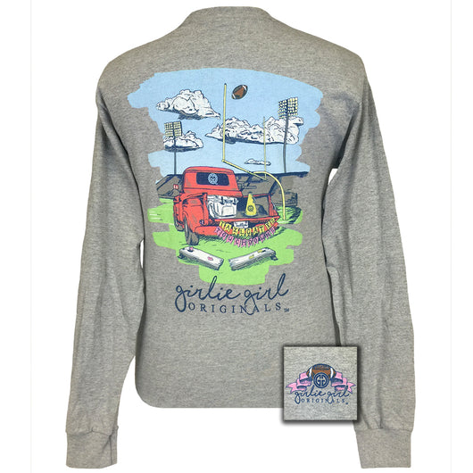 Tailgates and Touchdowns Sports Grey Long Sleeve