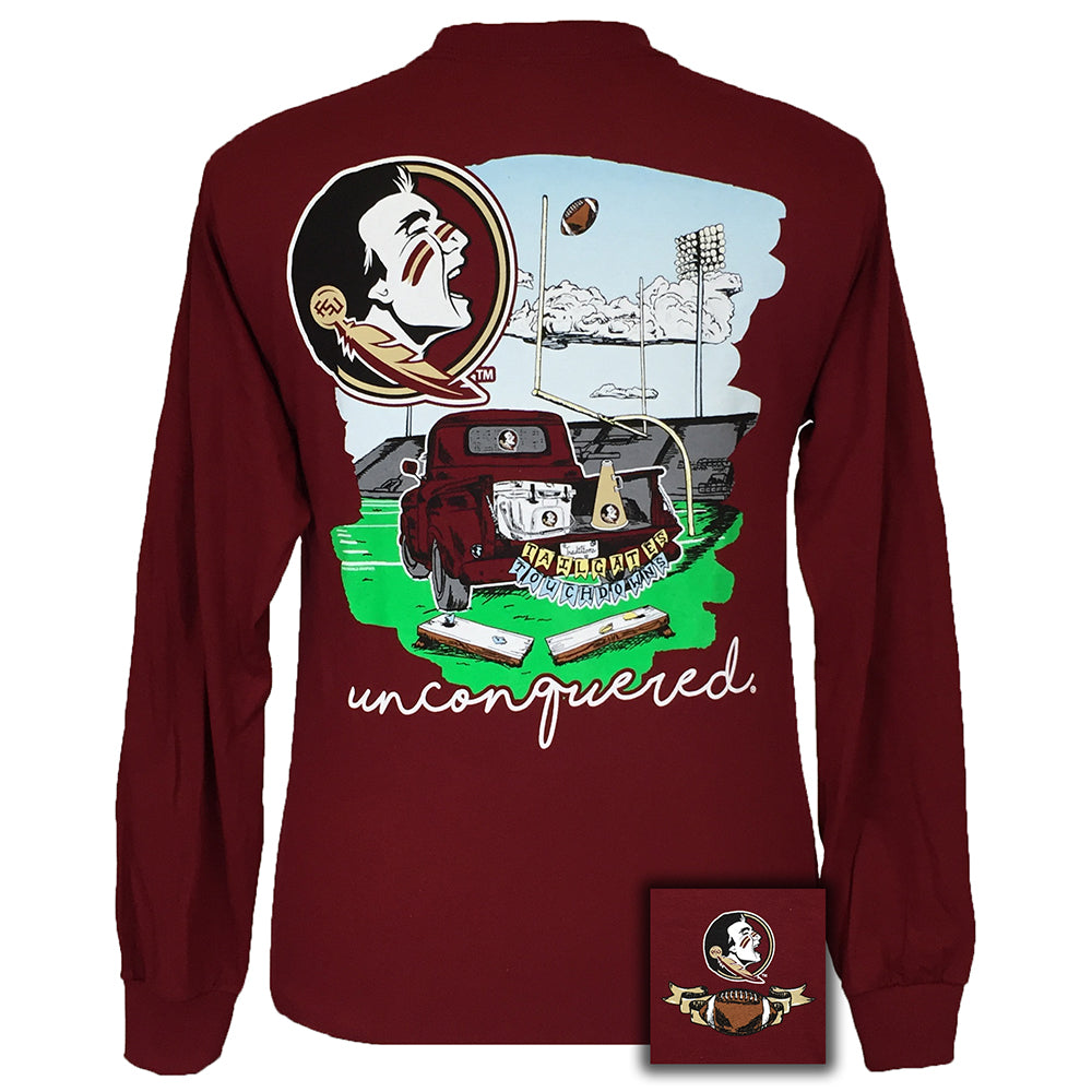 Tailgates and Touchdowns Florida State Garnet Long Sleeve