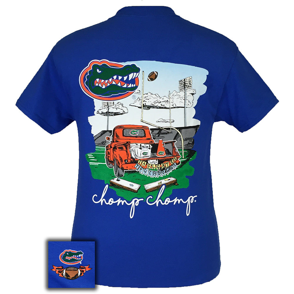 Tailgates and Touchdowns Florida Royal Short Sleeve