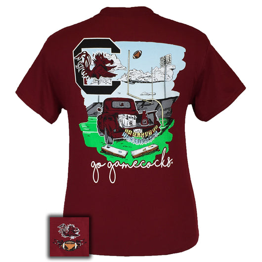Tailgates and Touchdowns SC Garnet Short Sleeve