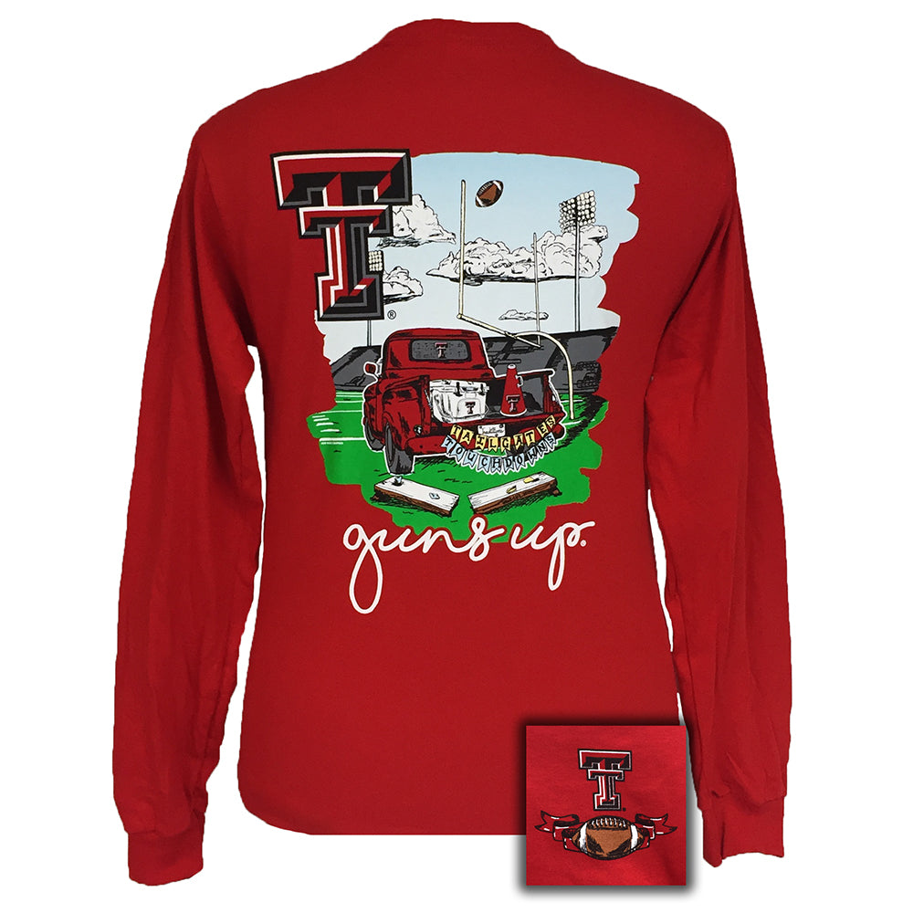 Tailgates and Touchdowns Texas Tech Red Long Sleeve