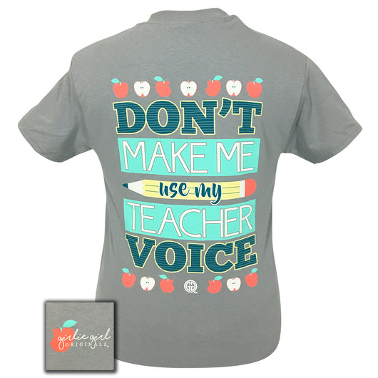 Teacher Voice Sport Grey Short Sleeve
