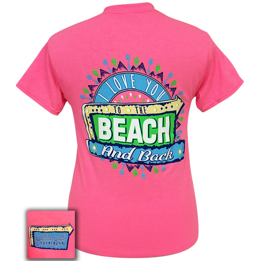 To The Beach-Safety Pink SS-1820