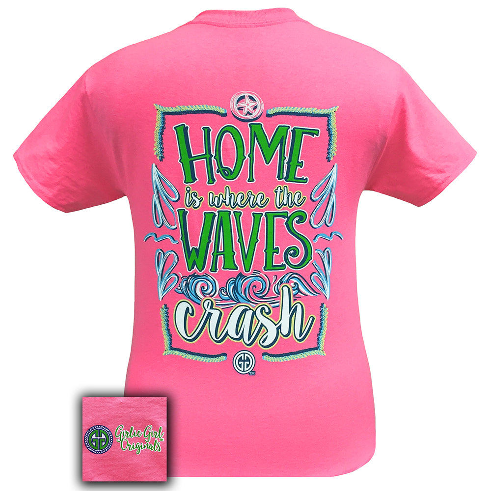 Waves Safety Pink Short Sleeve