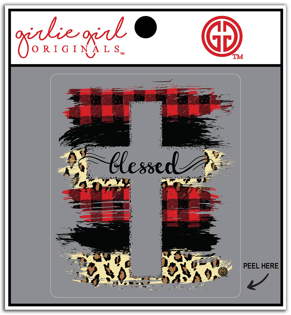 Decal/Sticker-2336-Blessed Patterns