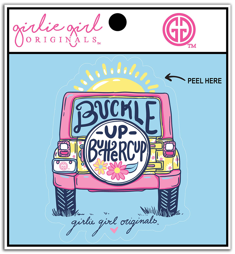 Decal/Sticker-2354-Buckle Up
