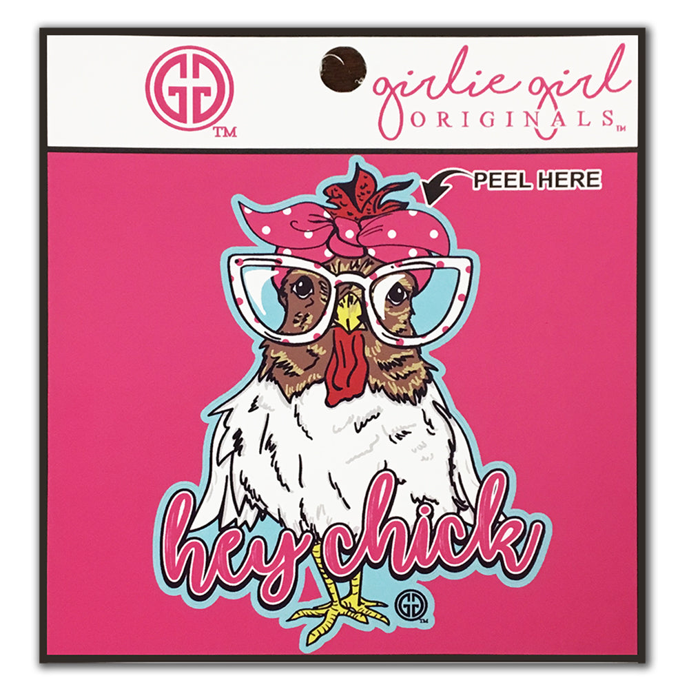 Hey Chick Decal/Sticker
