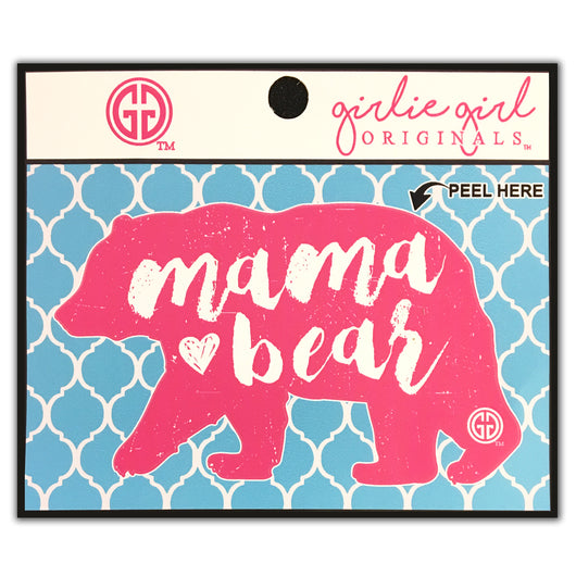 Decal/Sticker-1644 Mama Bear Pink