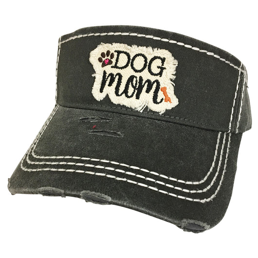 KBR-136 Dog Mom Dark Grey
