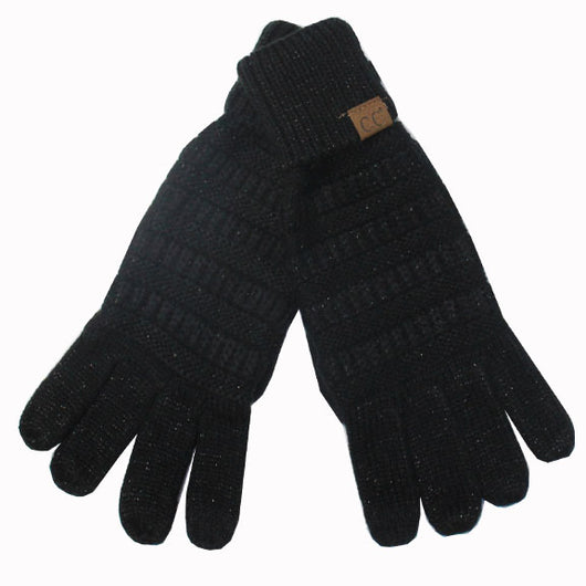 G-20 C.C Metallic Black Gloves