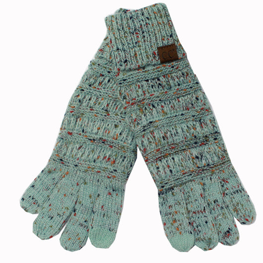 G-33 C.C Mint Speckled Gloves
