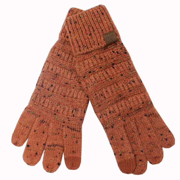 G-33 C.C Rust Speckled Gloves