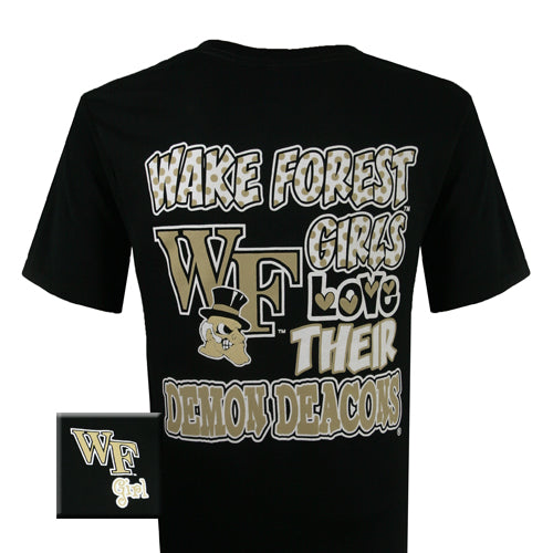 Wake Forest T-Shirt: Wake Forest Girls (Short Sleeve)