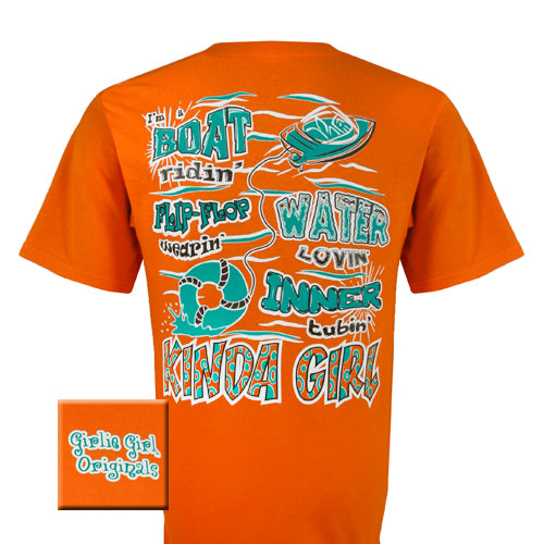 Boat - Mandarin Orange (Short Sleeve)