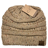 HAT-33 Speckled Beanie Latte