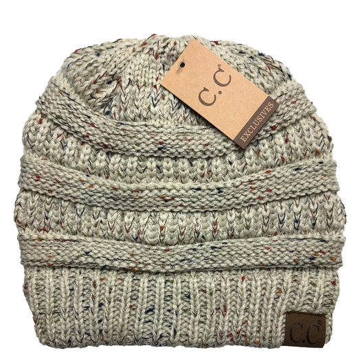 HAT-33 Speckled Beanie Oatmeal