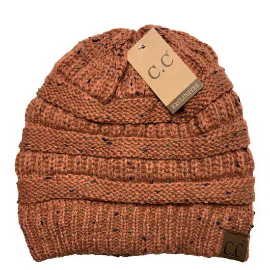 HAT-33 Speckled Beanie Rust