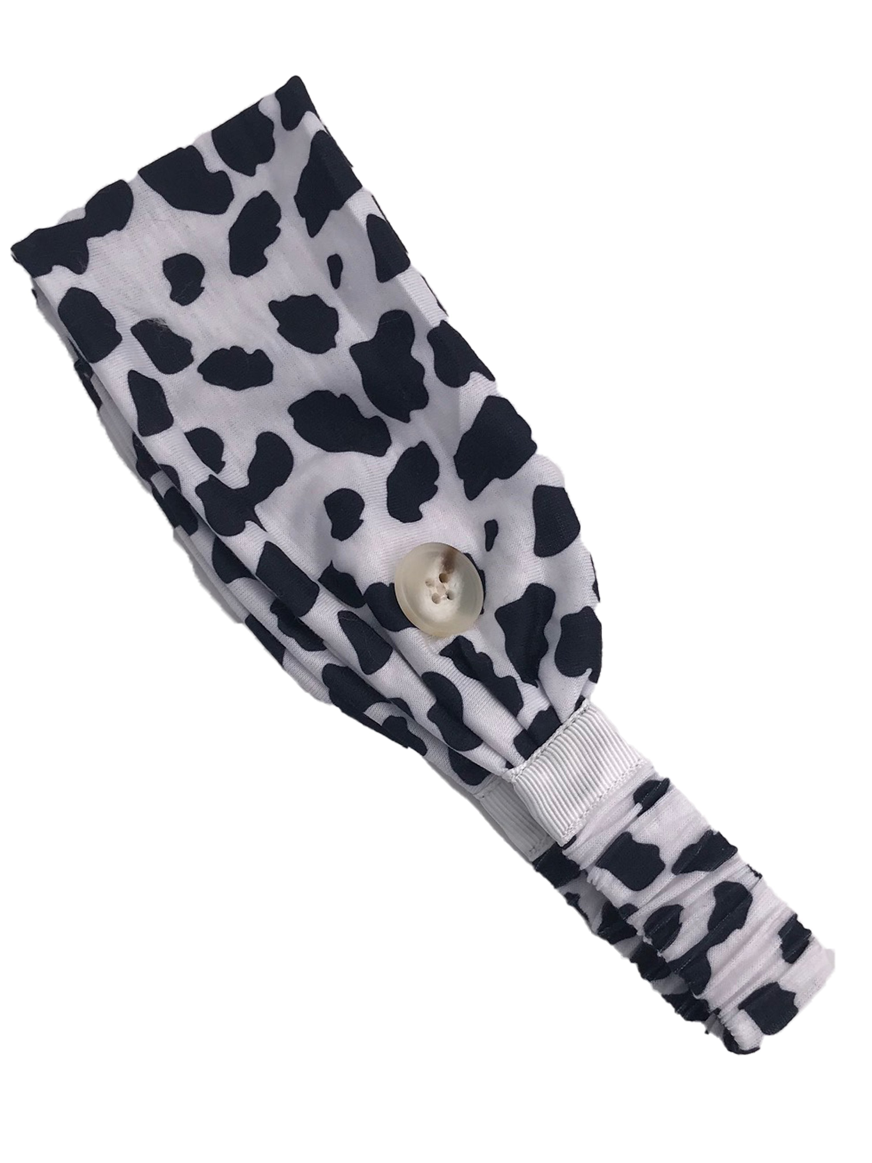 HB-2020 Adult Headband Cow