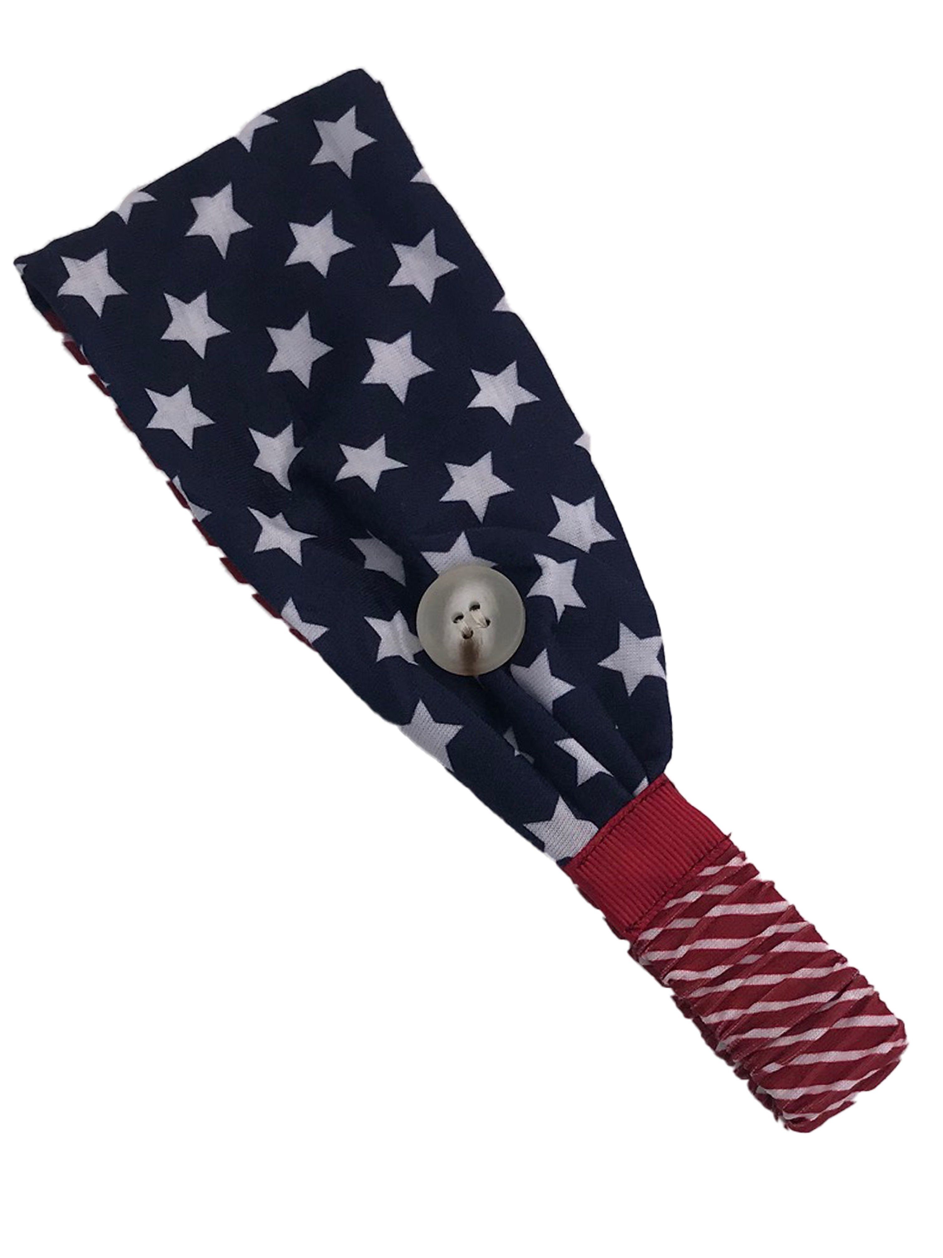 HB-2020 Adult Headband Flag