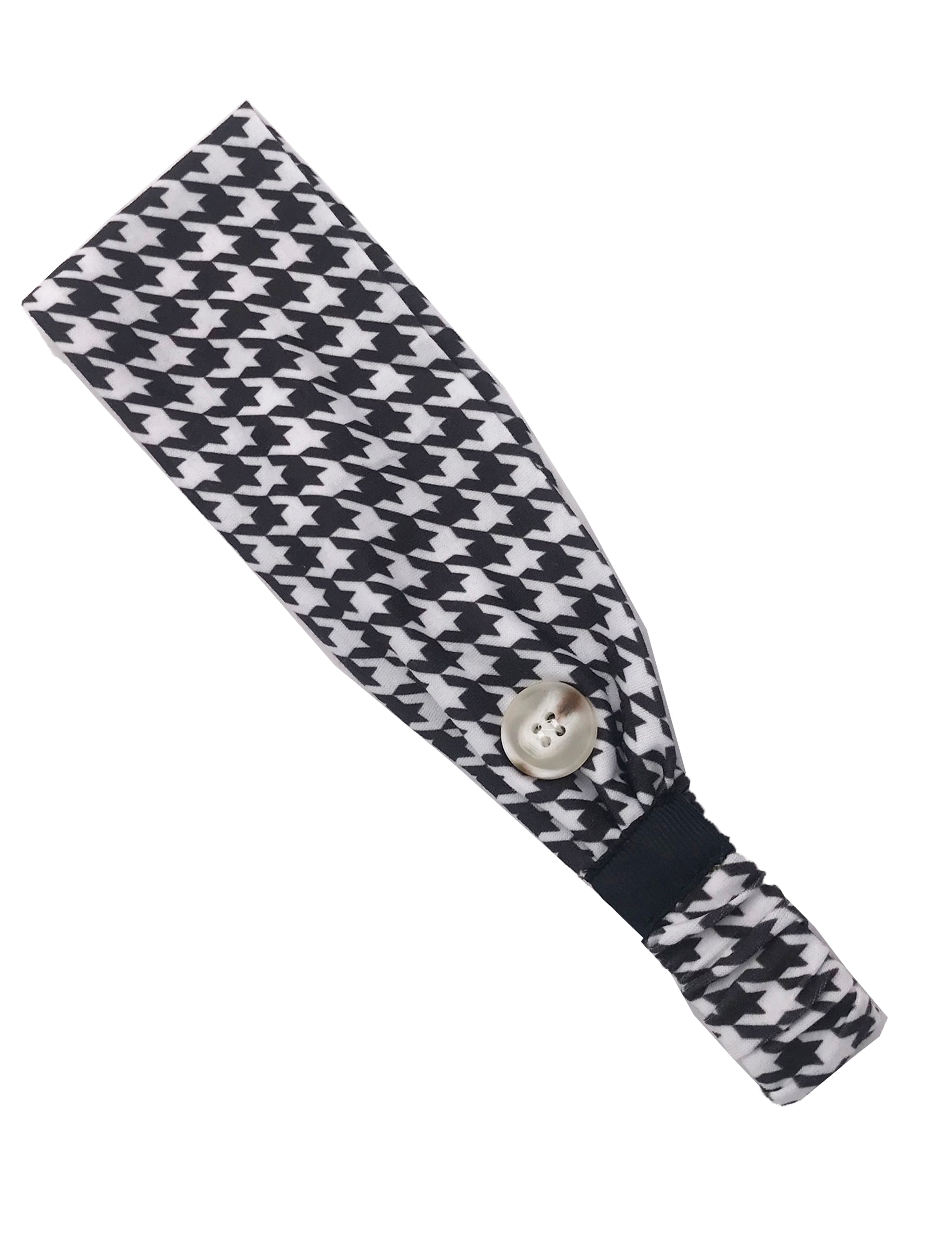 HB-2020 Adult Headband Houndstooth