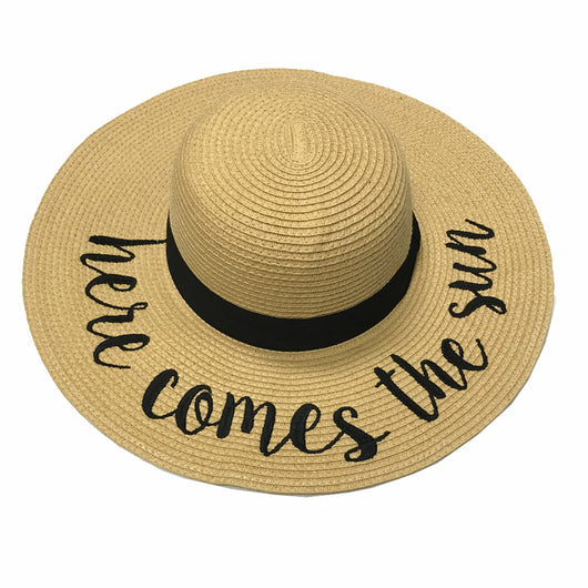 ST-2017 Here Comes the Sun Beach Hat