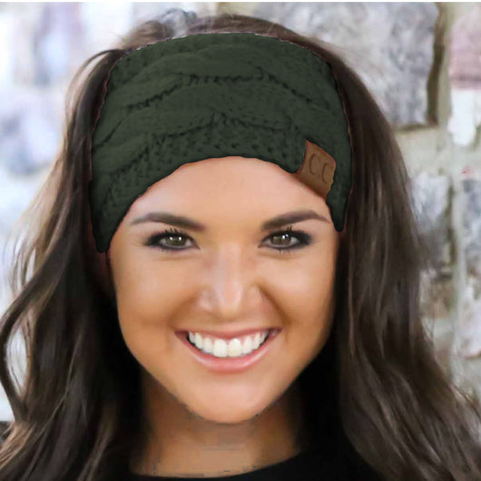 HW-20 NEW OLIVE HEADWRAP