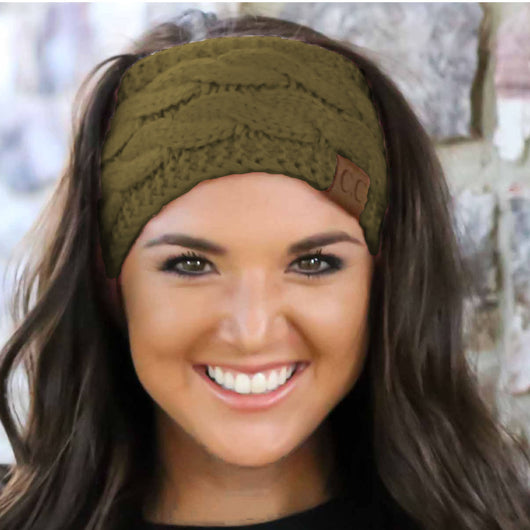 HW-20 OLIVE HEADWRAP