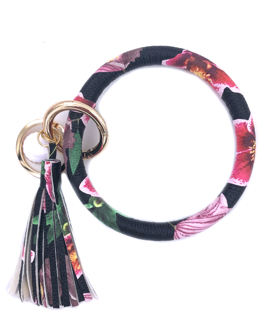 KC-8845 Hibiscus Key Chain