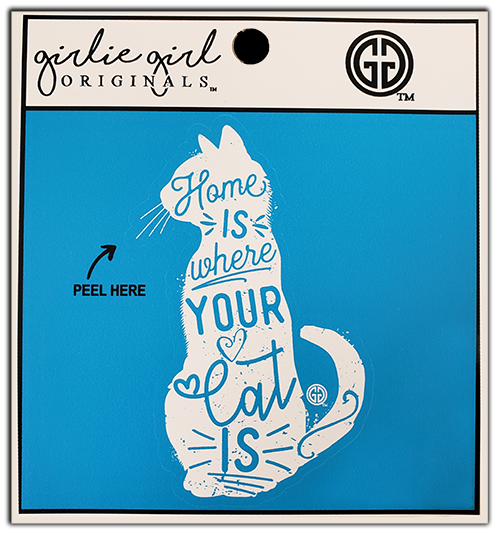 Where your Cat is Decal/Sticker