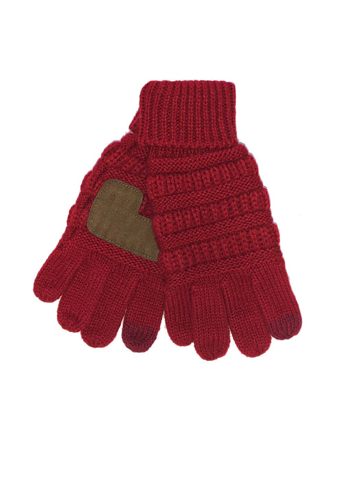 G-20-KIDS RED GLOVES