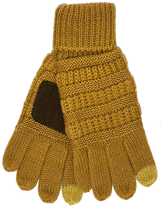G-20-KIDS MUSTARD GLOVES