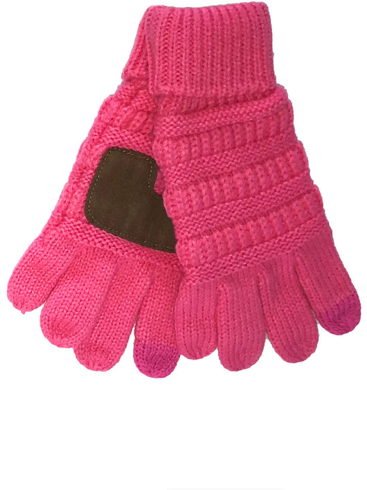 G-20-KIDS NEW CANDY PINK GLOVES