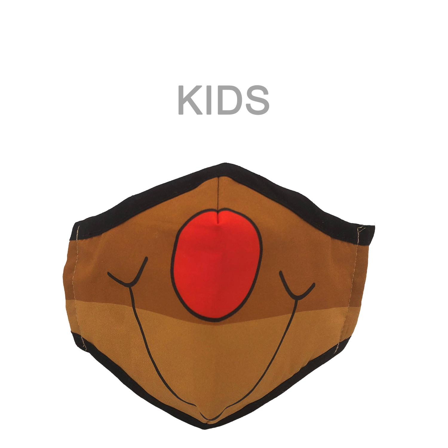 KIDS MASK RUDOLPH