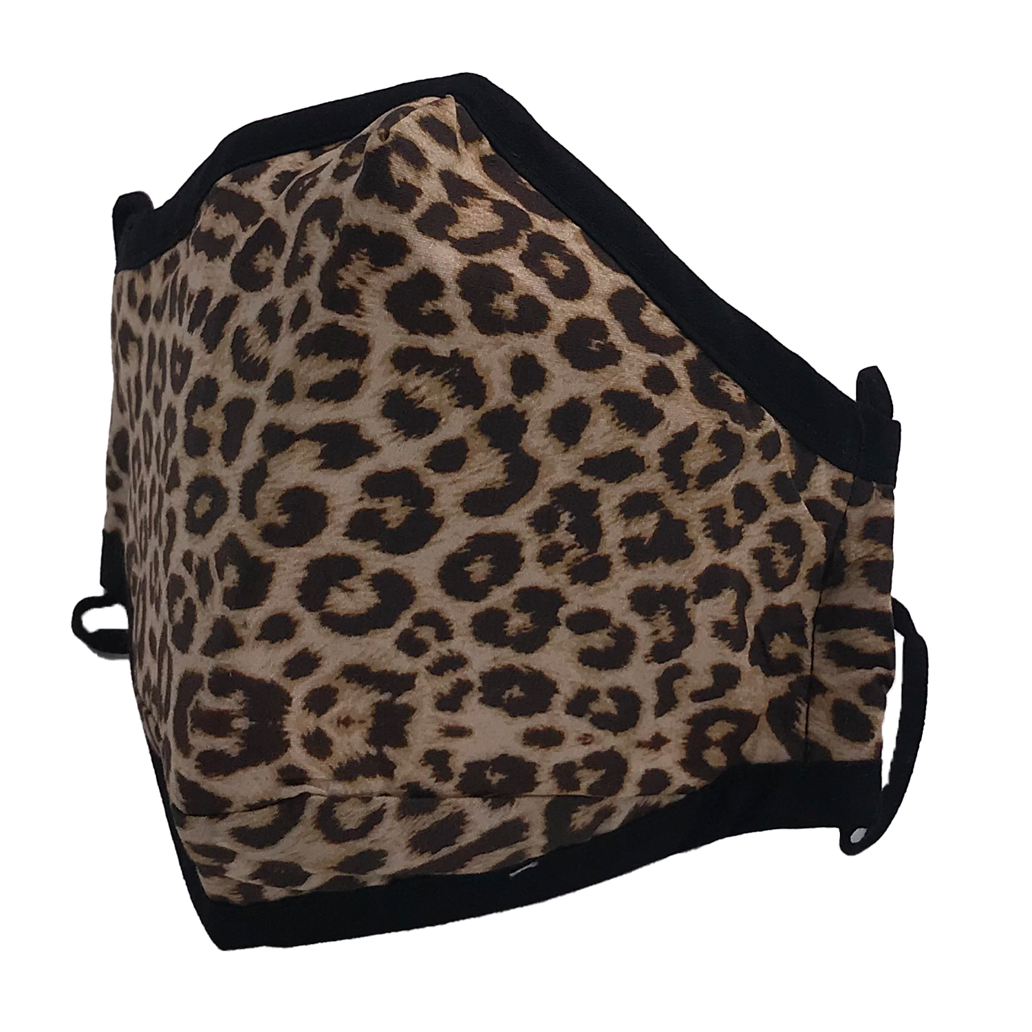 ADULT MASK LEOPARD BROWN
