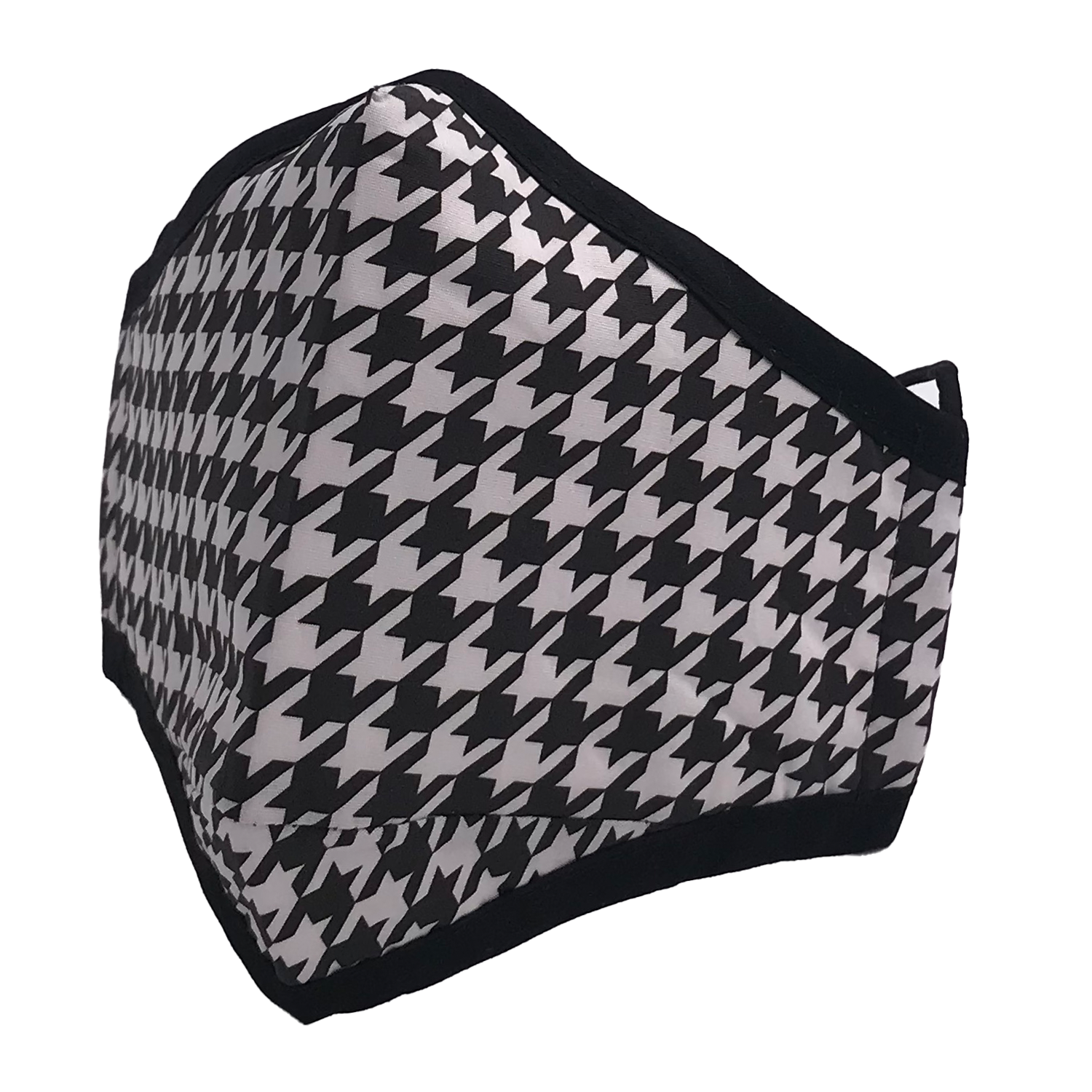 ADULT MASK HOUNDSTOOTH