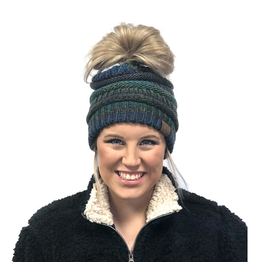 MB-705 BEANIE TEAL MIX