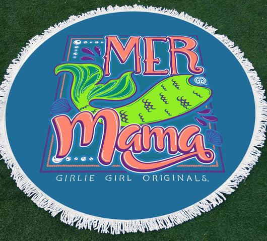 GGO-Beach Towel MerMama