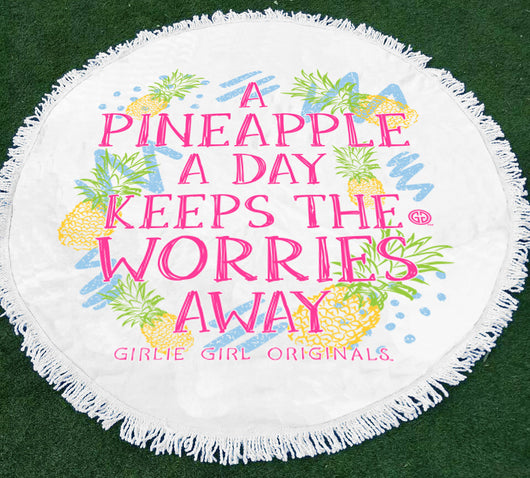GGO-Beach Towel Pineapple a Day