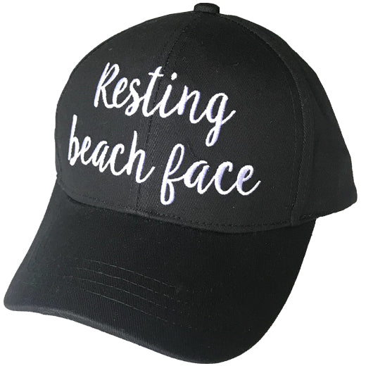 BA-2017 Resting Beach Face Black