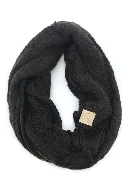 SF-800-KIDS BROWN INFINITY SCARF
