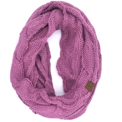 SF-800 New Lavender Infinity Scarf