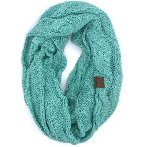 SF-800 Sage Infinity Scarf