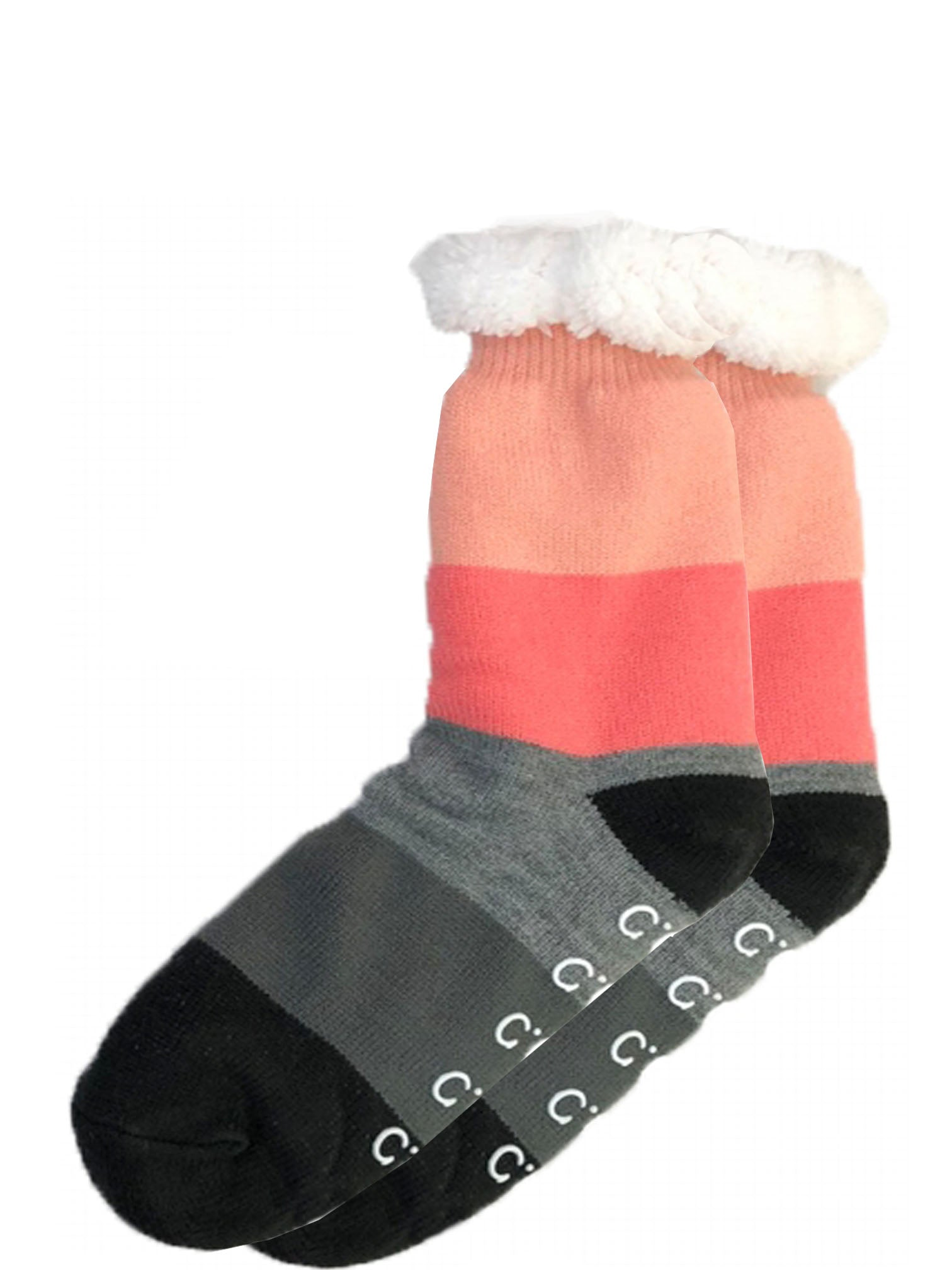 SL-01 C.C Sherpa Socks Color Block