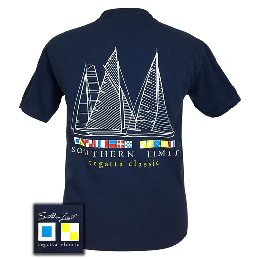 Southern Limit Regatta Classic True Navy Short Sleeve