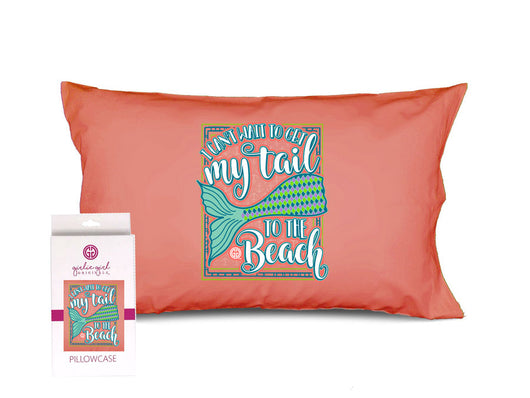 PC-Mermaid Tail Pillowcase