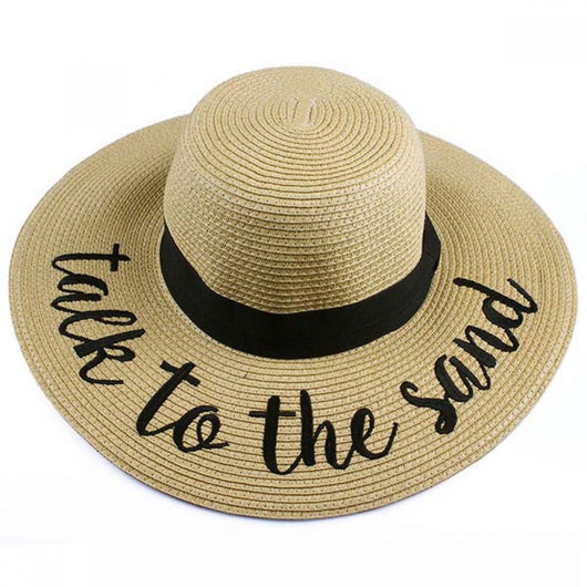ST-2017 Talk to the Sand Beach Hat