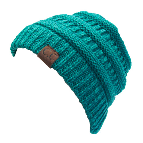 YJ-800 15 MINT TWO-TONE BEANIE