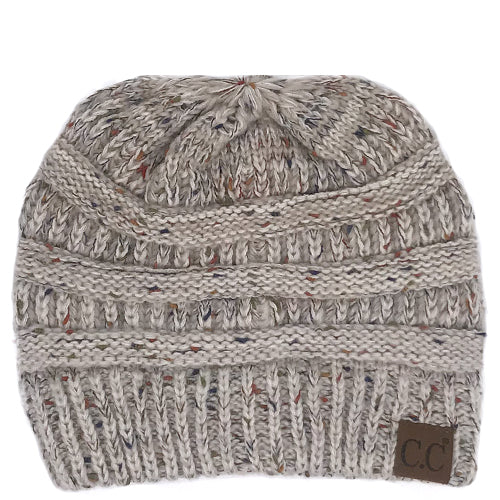 YJ-817 Ombre Oatmeal Beanie